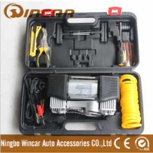 12V Portable Car Air Compressor Kit with Hand Case (W2009G) pictures & photos