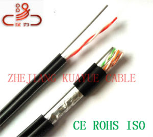 Drop Wire Idsl Telephone/Computer Cable/ Data Cable/ Communication Cable/ Connector/ Audio Cable pictures & photos