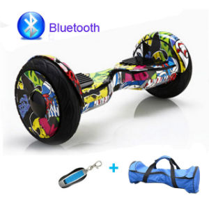 Remote Control Hoverboard 10inch Electric Self Balance Scooter Electric Hoverboard Bluetooth Electric Scooter Electric Skateboard pictures & photos
