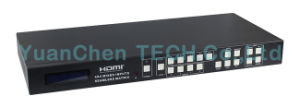 4k 4 X4 Mixed Inputs Seamless HDMI Matrix Switcher with IR pictures & photos