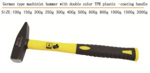 Good Quality Machinist Hammer Double Color Plastic Coating Handle pictures & photos
