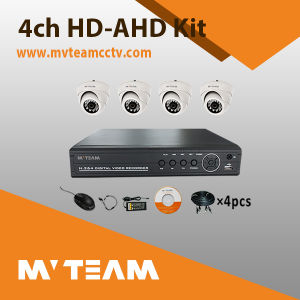 Mvteam 600tvl Camera System with 4CH DVR Kit Mvt-Kah04dh pictures & photos