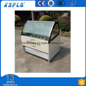 880mm Width Ice Cream Showcae pictures & photos
