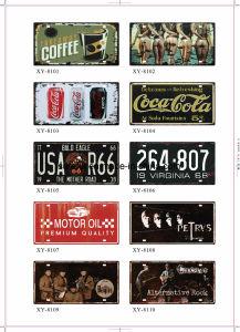 USA Style Retro Tin Sign 15*30cm Over 200 Designs pictures & photos