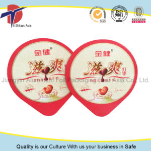 Aluminium Foil Lids for Yogurt Cup Sealing pictures & photos