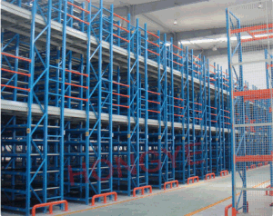 Multi-Tiers and Free Standing Mezzanine Warehouse Pallet Racking System (OW-MTR2) pictures & photos