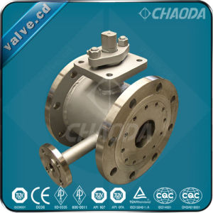 Flanged Ends Jacketed Ball Valve pictures & photos