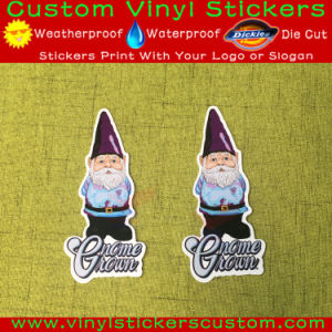 Custom Logo Die Cut Christmas Decal, Glossy Vinyl Christmas Sticker pictures & photos