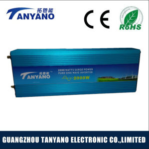 High Efficient 12V Solar Pure Sine Wave Inverter 2000W pictures & photos