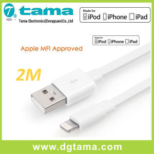 Certified Mfi-Ios 7 Lightning Noodle Flat 8-Pin USB Data Cable pictures & photos
