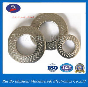ODM&OEM Stainless Steel Nfe25511 Lightning Single Side Tooth Washers Spring Washer Steel Washers pictures & photos