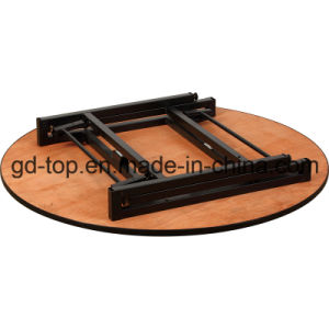 Banquet Foldable Table with Wheels pictures & photos