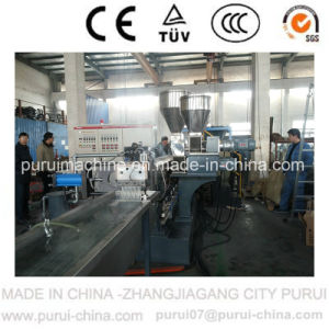 Parallel Twin Screw Extruder for Making Masterbatch pictures & photos
