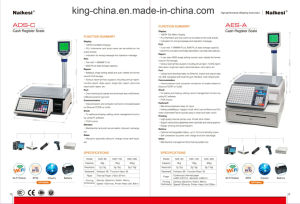 Ads-30e+ Cash Scale for Convenient Store by Using Internet Management pictures & photos