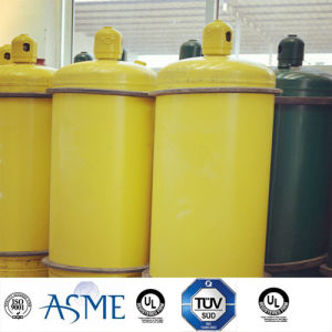 100L90kg Medium Pressure Steel Welding Gas Cylinder for Hf pictures & photos