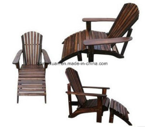 Outdoor Frog Beach Chair with Feet on Solid Wood Do Old Chaise Longue Balcony Recreational Chair Lazy Lunch Break (M-X3831) pictures & photos