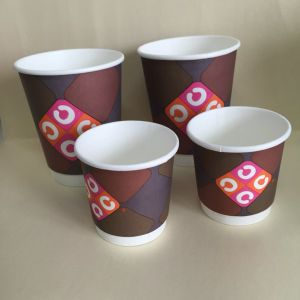 12oz Disposable Double Wall Paper Cup (YHC-139) pictures & photos