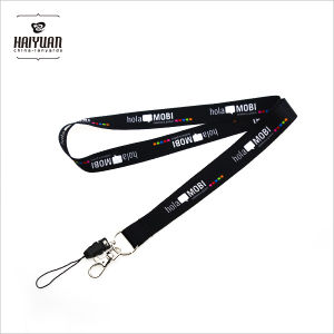 Promotional Heat Transfer Printed Lanyard with Metal Hook pictures & photos