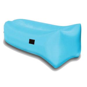 Outdoor Nylon Fabric Inflatable Hangout Portable Air Bag Sofa Lounger pictures & photos