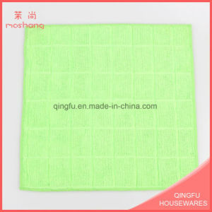 Personal Microfiber Towel Washable Grid Towels pictures & photos