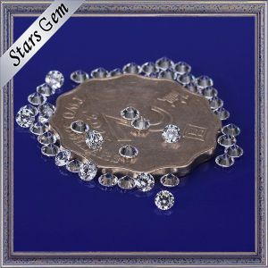 Many Size and Color Available Round Brilliant Cut CZ Zirconia Loose Gemstones pictures & photos