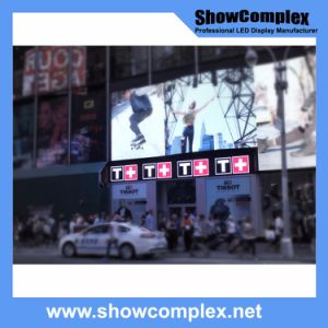 Outdoor Full Color LED Video Screen for Advertisement with Ce Certification (pH10 960mm*960mm) pictures & photos