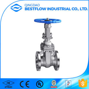 Flanged Stainless Steel Gate Valve pictures & photos