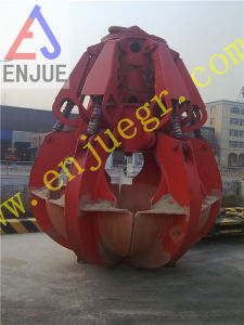 Electric Hydraulic Orange Peel Grapple Motor Hydraulic Rock Grab pictures & photos