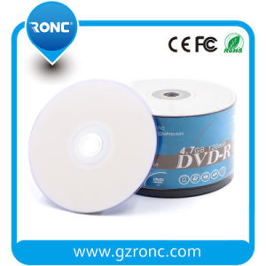 Inkject Printable Blank DVD Disc, Empty DVD-R 16X 4.7GB pictures & photos