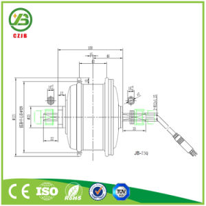 CZJB-75Q Front Drive Electric Bicycle Wheel Hub Motor 36V 250W pictures & photos