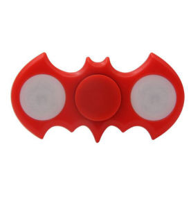 Newest Batmen LED Fidget Spinner with Switch pictures & photos