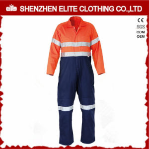 Flame Retardant High Visibility Wholesale Cotton Coverall Workwear pictures & photos