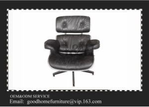 Living Relax Room Furniture Black Leather Charles Emes Chair pictures & photos
