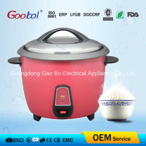 High Glass Design Drum Rice Cooker Easy Cleaning Inner Pot pictures & photos