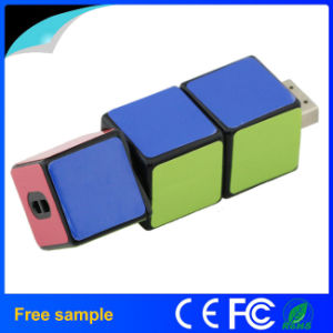 Wholesale Cheap Plastic Magic Cube USB Flash Drive