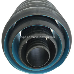 Size200-800mm HDPE Double-Wall Corrugated Pipe for Drainage pictures & photos