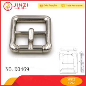 Jinzi Bag Accessories Custom Metal Pin Belt Buckles pictures & photos