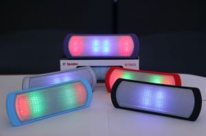 China Manufacturer Colorful Computer Speaker with Handsfree Bluetooth