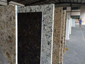 Laminated Artificial Quartz Bathroom/Kitchen Vanity Tops/Worktops/Waterfall Countertops pictures & photos