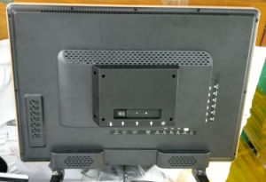 Solar Power DC LED Color TV with Lights for Africa pictures & photos