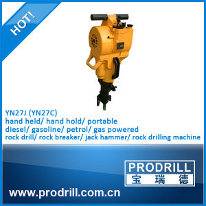 Gasoline Powered Yn27c Rock Driller pictures & photos