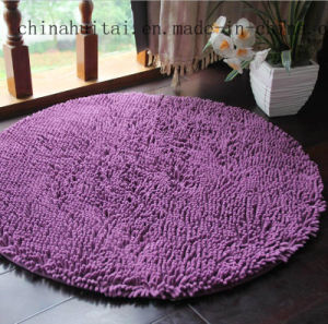 Polyester Anti-Slip Chenille High Pile Tufted Shaggy Floor Carpet