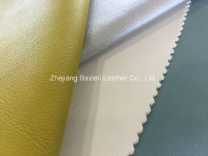 Suede Backing with PVC Leather Accept Customized pictures & photos