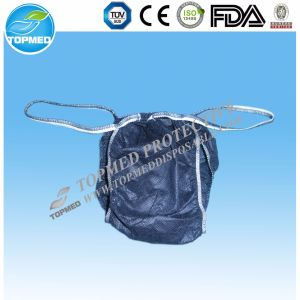 Women′s Nonwoven Disposable Underwears/Thong/Bikini/Lingerie/G-String for SPA pictures & photos