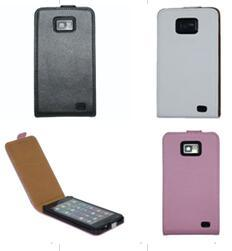 I-22A Flip Leather Case for Samsung Smart Phone I9100/S2 Use pictures & photos