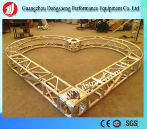 Heart Shape Truss Aluminum Square Screw Lighting Stage Truss pictures & photos