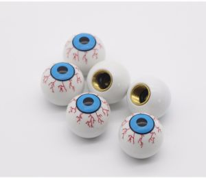 4PCS/Lot Eye Ball Car Bike Moto Tires Wheel Tyre Valve Cap Styling for FIAT Audi Ford BMW VW Jeep Honda Toyota Skoda pictures & photos
