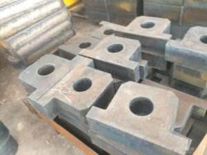 Steel Plate Cutting Part, Steel Plate Processing pictures & photos