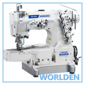 Wd-600-01CB High Speed Flat-Bed Interlock with Left Side Cutter pictures & photos