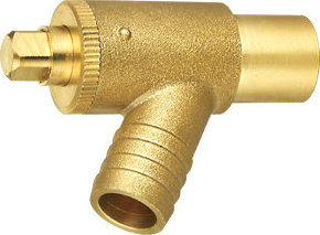 Y-Type Single Silk Brass Gas Valve pictures & photos